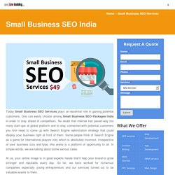 Spread Your Small Business with Reliable SEO Packages India
