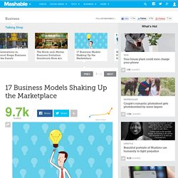 17 Unique Business Models Shaking Up the Marketplace