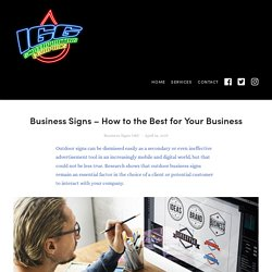 Business Signs – How to the Best for Your Business