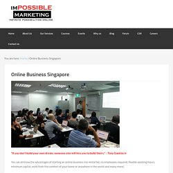 Singapore online business