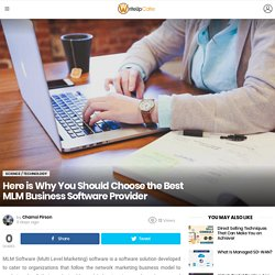 Best MLM Business Software Provider - Cloudmlmsoftware.com