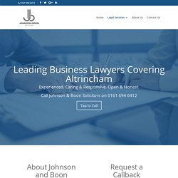 Business Law Solicitors in Altrincham