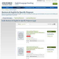 Business & English for Specific Purposes