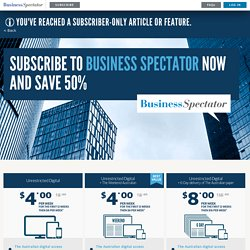 businessspectator.com
