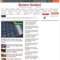 Business Standard :: Business News,Finance News, World Business, India Stock News, Indian stock market, India investments, Indian Industry, Sensex, Nifty, BSE, NSE, India Business, India Economy, India, share market, Corporate Result, Finance News from th