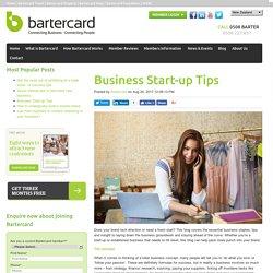 Business Start-up Tips