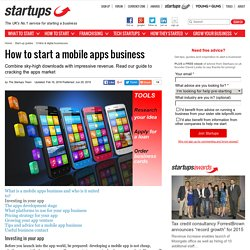 How to start a mobile apps business - Page 2 of 8 - Startups.co.uk: Starting a business advice and business ideas - page 2