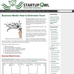 Business Models for Startups, Business Model Strategies