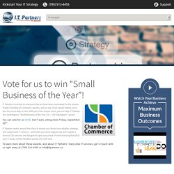 "Vote for us to win ""Small Business of the Year""!"