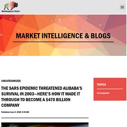 ALIBABA Online Business Survival - Marketplace Distri