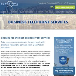 business telephone service