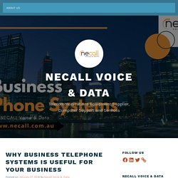 Why Business Telephone Systems is Useful for Your Business