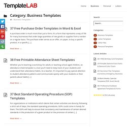 Business Templates Archives - Page 8 of 8 - Template Lab