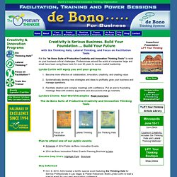 de Bono for Business