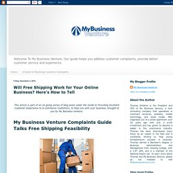 Will Free Shipping Work for Your Online Business? Here's How to Tell