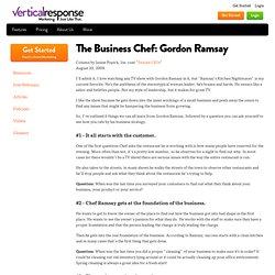 The Business Chef: Gordon Ramsay - VerticalResponse - StumbleUpon