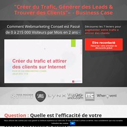 Business Case Webmarketing Conseil