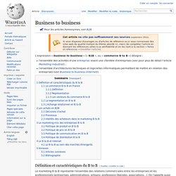 B2B Wikipedia