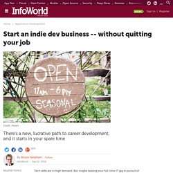 Start an indie dev business