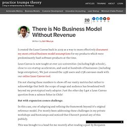 There is No Business Model Without Revenue