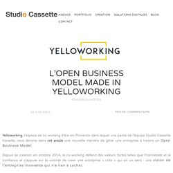 L'Open Business Model made in Yelloworking - Studio Cassette