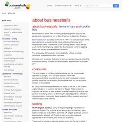 Businessballs free personal and organisational development and free publishing website