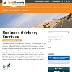 Business Advisory Services For Businesses
