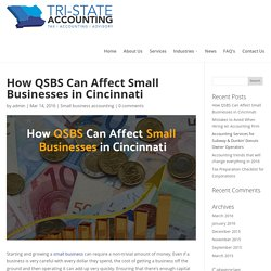 How QSBS Can Affect Small Businesses in Cincinnati