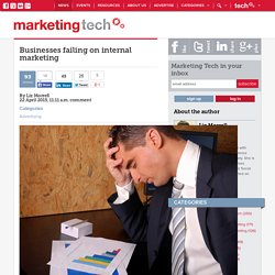 Businesses failing on internal marketing