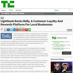 Lightbank Backs Belly, A Customer Loyalty And Rewards Platform For Local Businesses