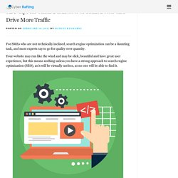 SEO Tips for Small Businesses to Rank Better and Drive More Traffic