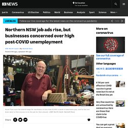 Northern NSW job ads rise, but businesses concerned over high post-COVID unemployment - ABC News