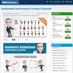 Stock Business Cartoon Characters