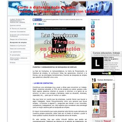 Busqueda de empleo - Curso Tecnico Orientacion e Insercion Laboral