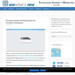 El nuevo motor de búsquedas de Creative Commons