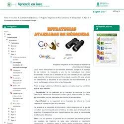 Búsquedas1: Estrategias avanzadas de búsqueda en Google