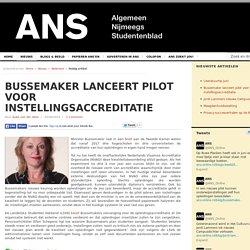 Bussemaker lanceert pilot voor instellingsaccreditatie