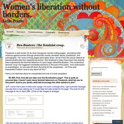 Women's liberation without borders.
