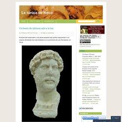 Un busto de Adriano sale a la luz