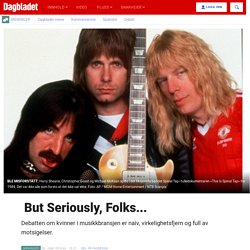 But Seriously, Folks... - Dagbladet