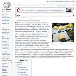 WIKIPEDIA - Butter.