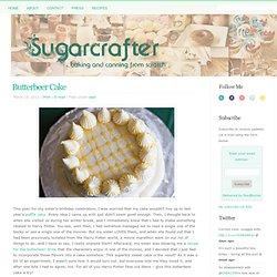 Butterbeer Cake