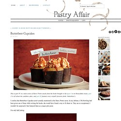 Pastry Affair - Home - Butterbeer Cupcakes