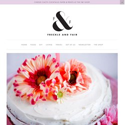 Recipes, DIY tutorials, travel guides and general awesomeness