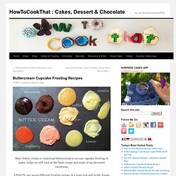 HowToCookThat: Gâteaux, Desserts & ChocolateHowToCookThat: gâteaux, dessert et chocolat