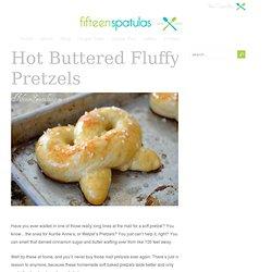 Hot Buttered Soft Baked Pretzels