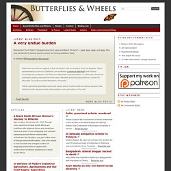Butterflies and Wheels