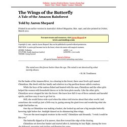 The Wings of the Butterfly (Native South American Folktales)