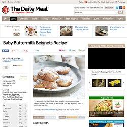 Baby Buttermilk Beignets