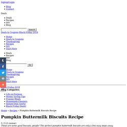 Pumpkin Buttermilk Biscuits Recipe Recipes - Fabulessly Frugal